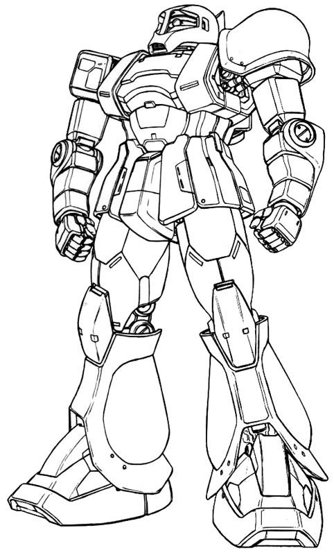 Zaku Lineart : The word images bee craft gundam redesigns