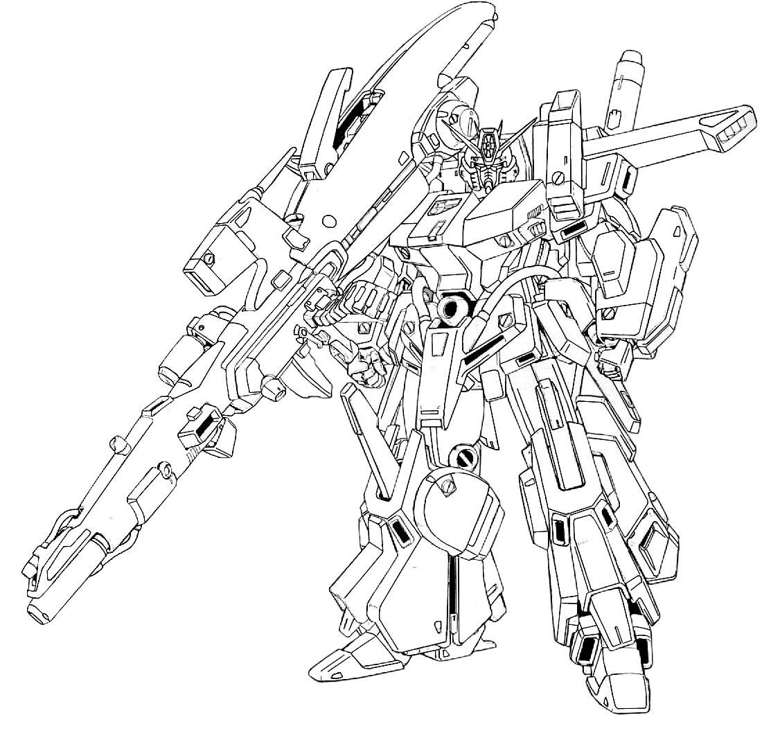 g gundam coloring pages - photo#46