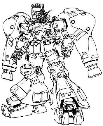 g gundam coloring pages - photo#42