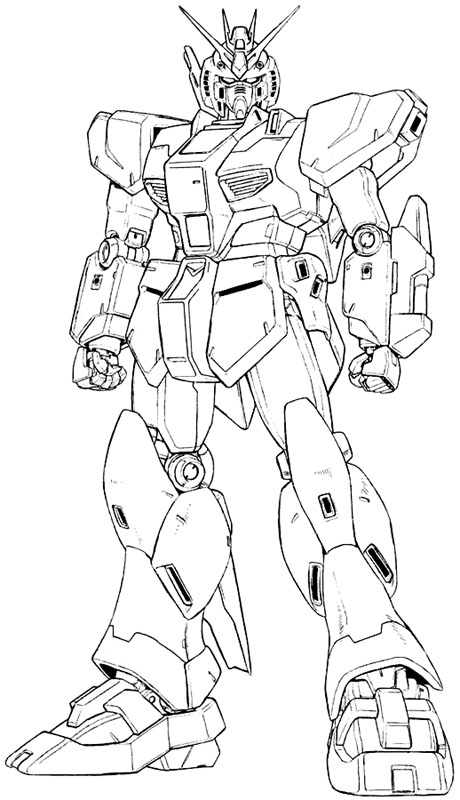 Zaku Lineart : Sd gundam wing coloring pages sketch page